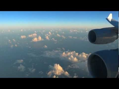 Lufthansa Airbus A340-600 - fantastic flight from Sao Paulo to Munich
