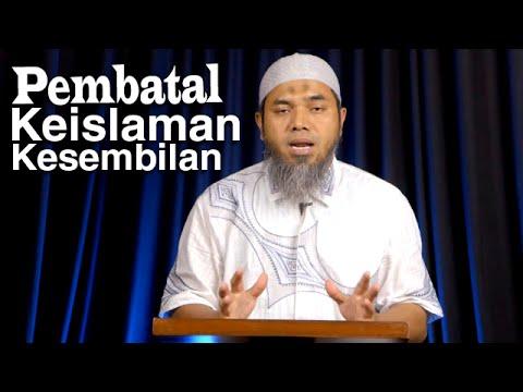Serial Aqidah Islam 60: Pembatal Keislaman Kesembilan - Ustadz Afifi Abdul Wadud