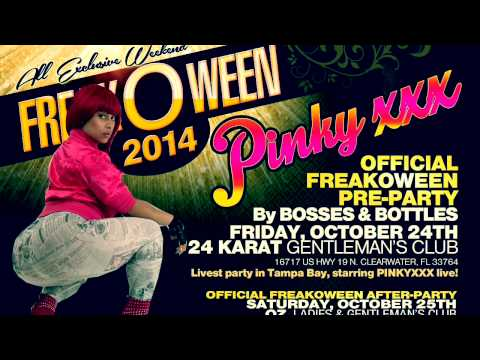 Freakoween 2014 Weekend, Tampa, Fl. Hosted By Pinkyxxx video