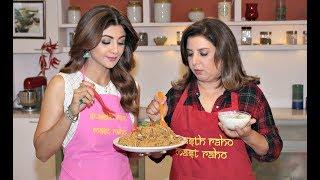 EID Special Recipes By Shilpa Shetty - Yakhni Pulao By Farah Khan - Shilpa Shetty Cooking Show