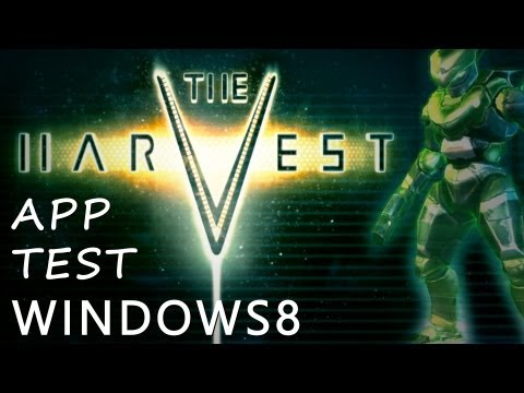 The Harvest Windows 8 PC Game App Test Review Deutsch