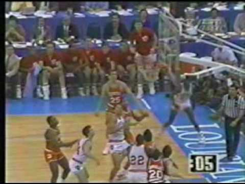 "Keith Smart 1987 ""The Shot"""