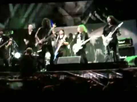 The Big Four-Megadeth, Metallica, Slayer, Anthrax, Sonisphere Sofia 2010 - Diamond Head - Am I Evil