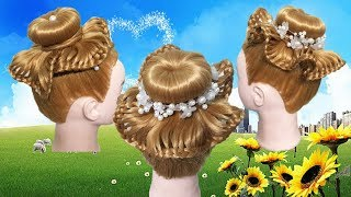 Beautiful Hairstyles Compilation 2018🌹Hairstyle hat🍒Weaving stingray💫Amazing Hair Transformations