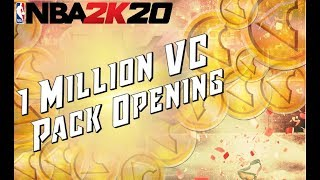 NBA 2K20 MYTEAM! 1 Million VC Pack Opening! Is It Worth It?