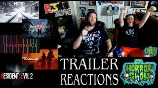 E3 2018 Horror Trailer Reactions #3 - METRO: EXODUS, DEVIL MAY CRY 5, TRANSFERENCE & More!