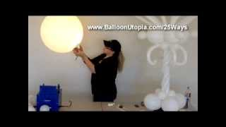 How to Put a Lightbulb Inside of a Balloon