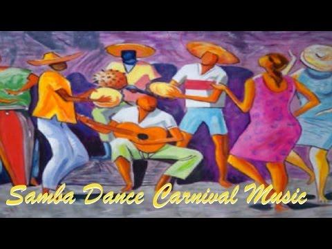 Samba dance carnival music of Brazil Bossa Nova , Samba music and Salsa Music