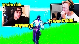 TFUE *FURIOUS* at CLOAKZY for SNAKING $140,000! (Fortnite)