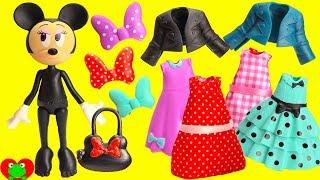 Minnie Mouse Mix and Match Fashion Change