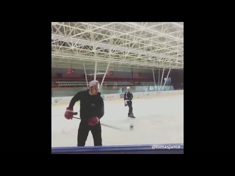 Tomas Jurco's Ridiculous New Stick Trick