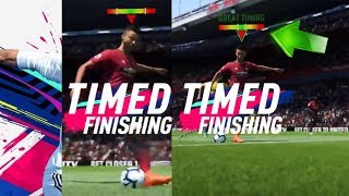 NEW FIFA 19 HOW TO TIME THE PERFECT SHOT !!! NEW SHOOTING TECHNIQUE EXPLAINED !!!
