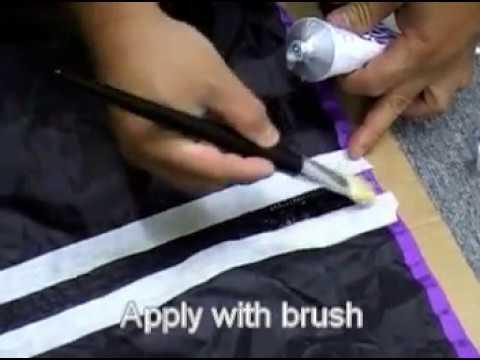 Seam sealing DIY