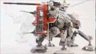Lego Star Wars AT-TE 75019 motorized