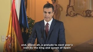 Spanish PM sees Cuba stay as prelude to royal visit