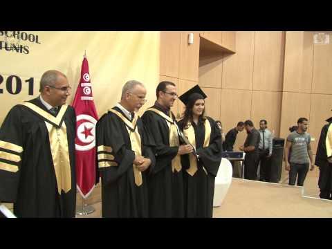 Graduation Ceremony Tunis Business School