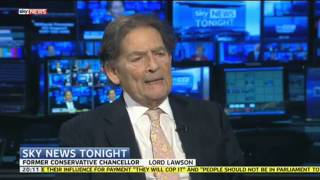 Lord Lawson Says Malcolm Rifkind Didn't Do Anything Technically Wrong