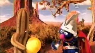 Sesame Street - Super Grover 2.0 and the cactus