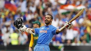 Shikhar Dhawan's 137 vs South Africa in World Cup