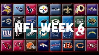 NFL Week 6 Picks & Predictions 2018 | 2019
