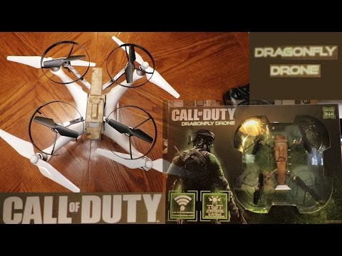 Call of Duty Dragonfly Drone Review and First Flight
