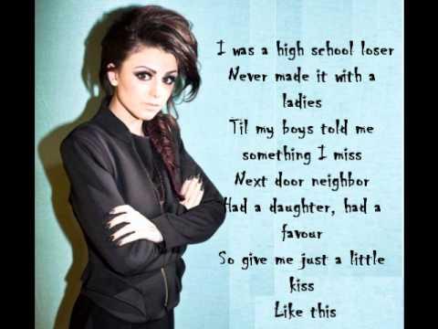 Cher Lloyd - Walk This Way ( Lyrics On Screen )