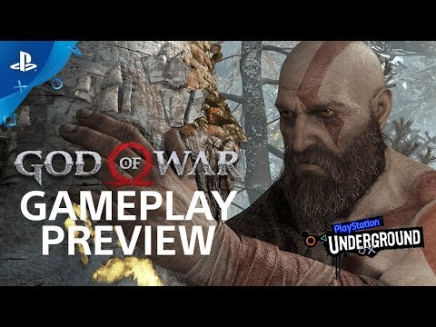 God of War: 15 Minutes of Gameplay - PS4 Gameplay Walkthrough | PS Underground