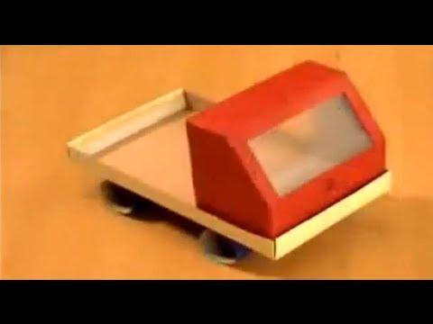 Manualidades | Como hacer un camión con reciclaje.