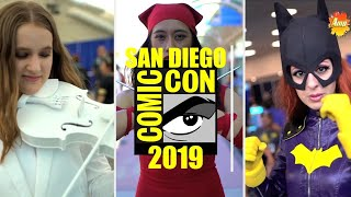 San Diego Comic Con 2019 | Cosplay Music Video (Comic Vibe)
