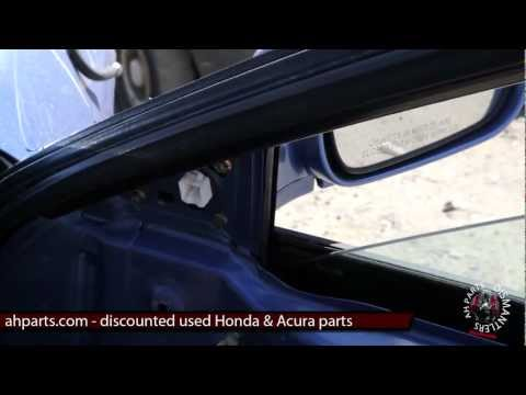 How to replace change install a door mirror 94 95 96 97 98 99 00 01 Acura Integra DIY Replacement