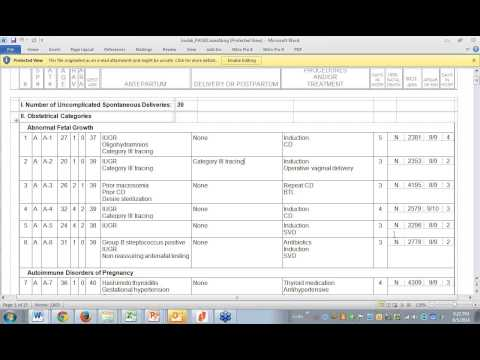 Dr. Wall's Ob gyn Board Prep 2014-2015 Case List Exam And Case Of The Day video