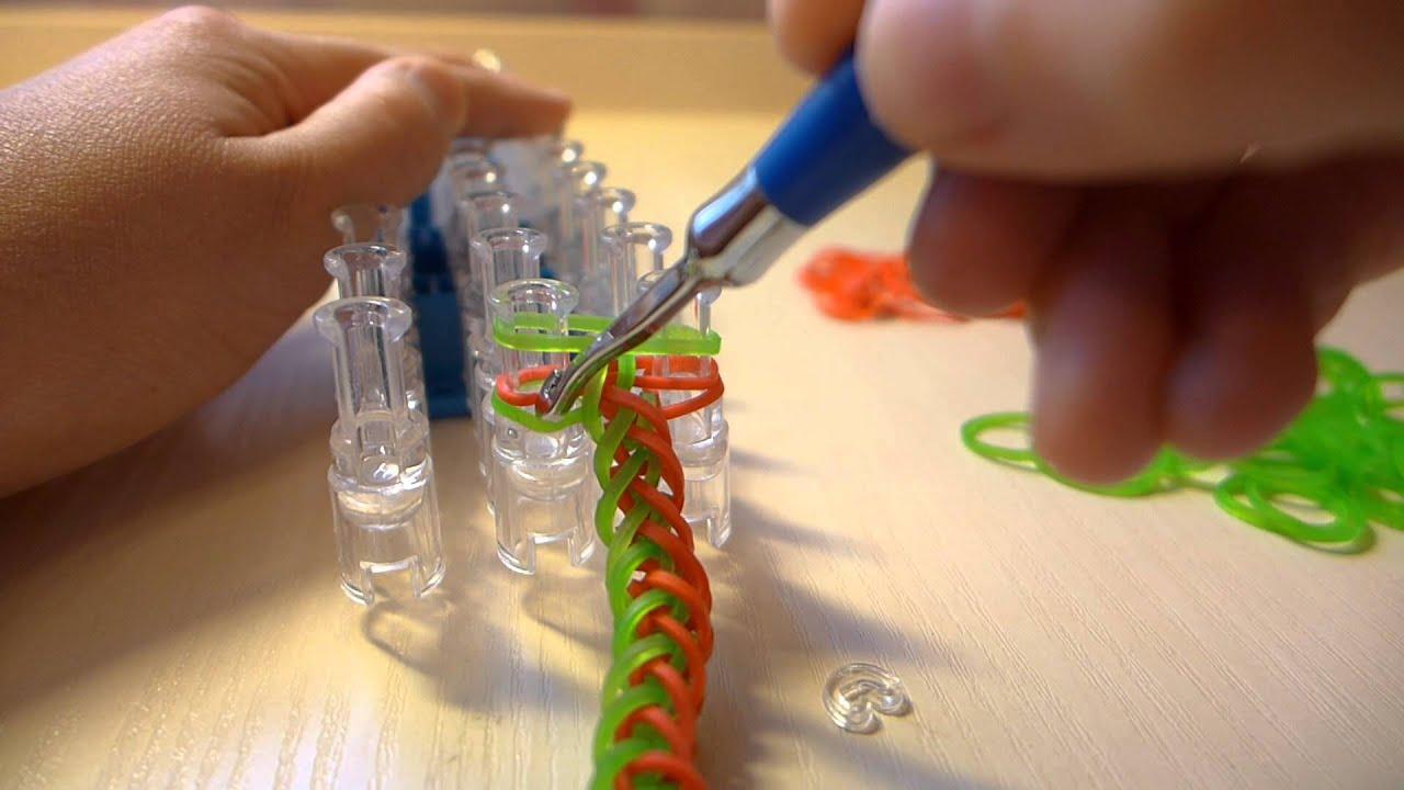 Фото схем плетения из резинок