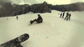 Snowboarding In Saalbach 8