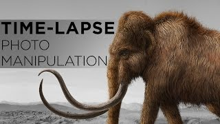 Time-Lapse Digital Painting: Woolly Mammoth in Photoshop | Pluralsight