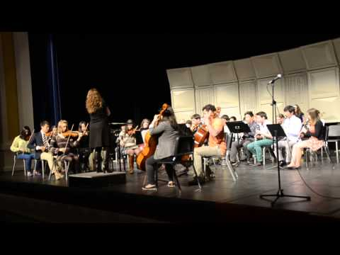 Blair Academy Grandparents Day April 20, 2013, Blair Academy Orchestra Part 2 - 04/22/2013