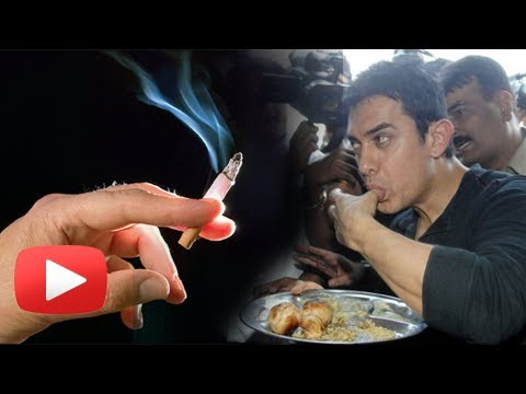 Aamir Khan Starts Smoking and Eating Vada Pav - Dhoom 3 Stress