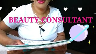 **COMEDIC ASMR | BEAUTY CONSULTANT | INTENSE TRIGGERS**