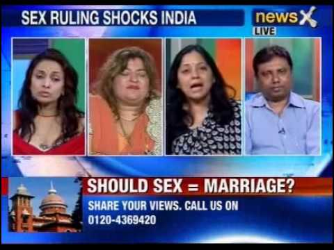 NewsX: Is pre-marital sex a crime?  - Part 3