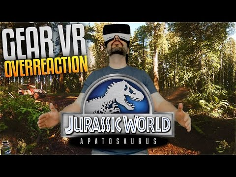 Jurassic World: Apatosaurus - Samsung Gear Vr Overreaction #1