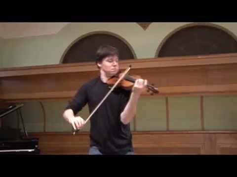 Joshua Bell plays Vieuxtemps Guarneri violin