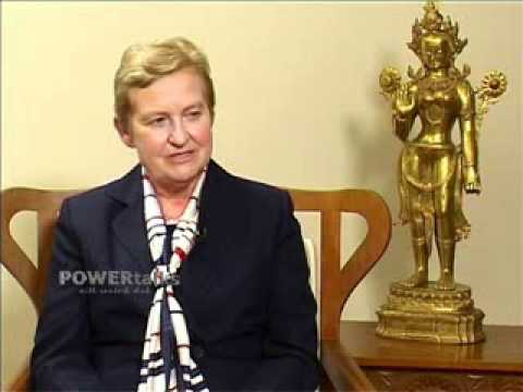 POWER TALKS 20. USA. Ambassador Nancy J. Powell. 6th July 2009