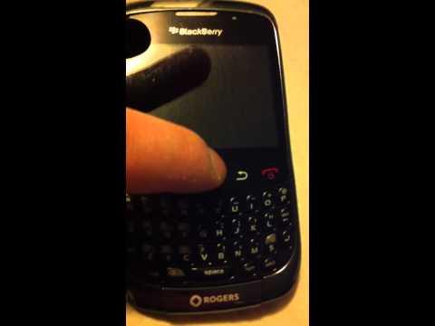 Blackberry Curve 9300 Trackpad Fix
