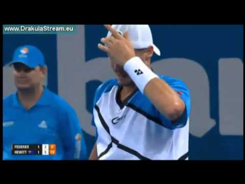 Roger Federer vs Lleyton Hewitt - ATP Brisbane International 2014 FINAL Highlights