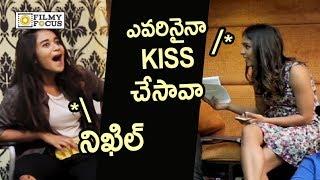 Deepthi Sunaina Funny Rapid Fire : Hilarious Video - Filmyfocus.com