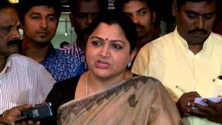 Congress Has Done  Good Things for SriLankan Tamils - Actress Kushboo- After Joining  Congress Party