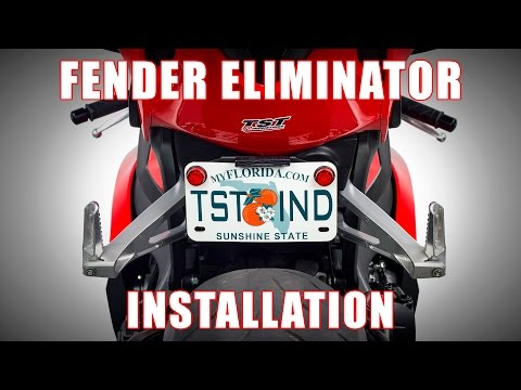 How to install a Fender Eliminator on a 2012-2016 Honda CBR1000RR by TST Industries