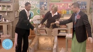 Glittering a Chair - April Fools Day - Martha Stewart