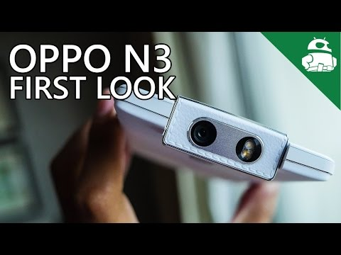 Oppo N3 First Look