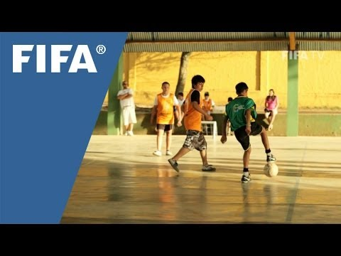 Brazilians stressing skills for football and life
