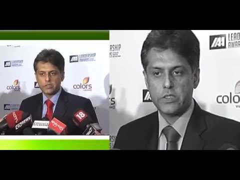 Shri Manish Tewari at the International Advertising Association's 1st IAA Leadership Awards function